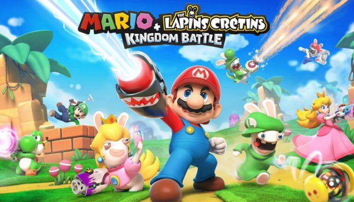 Nintendo France : 'Mario + The Lapins Crétins Kingdom Battle est disponible en boutique et sur le Nintendo eShop'