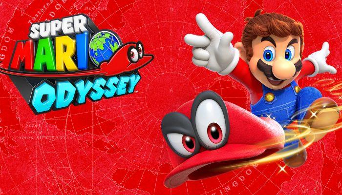 Nintendo France : 'Super Mario Odyssey est disponible dès maintenant en boutique et sur le Nintendo eShop'