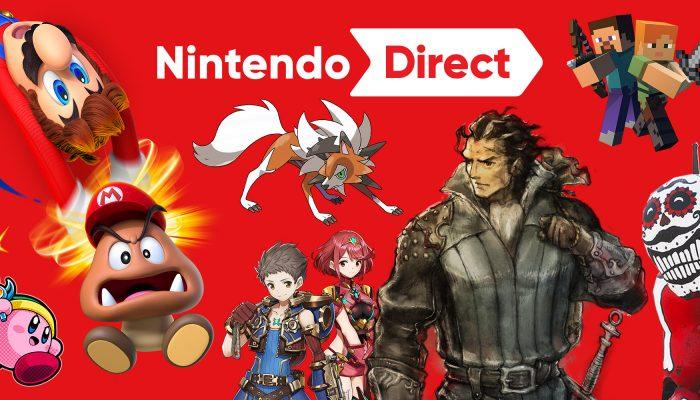 Nintendo France : 'Nintendo dévoile une foule de nouveaux jeux à venir sur Nintendo Switch et Nintendo 3DS'