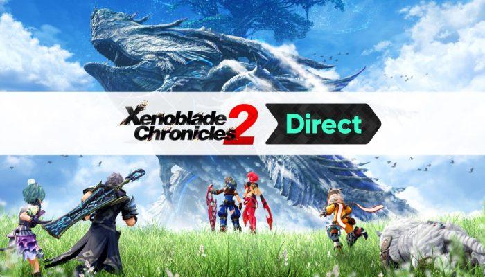 Nintendo France : 'Nintendo révèle de nouvelles informations sur Xenoblade Chronicles 2 avant sa sortie le 1er décembre'