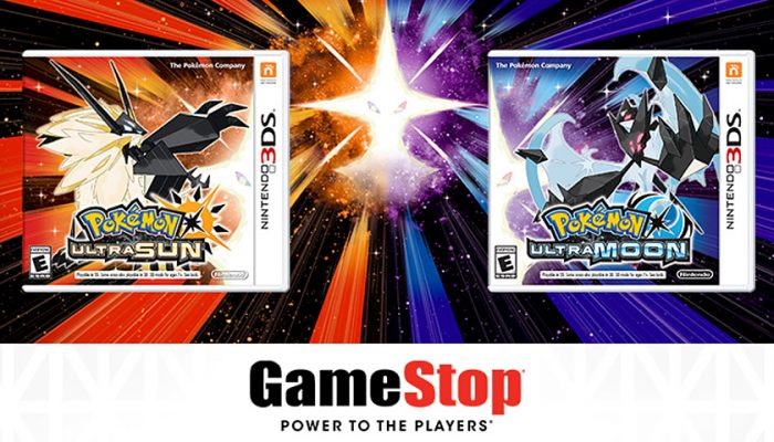 NoA: 'Visit GameStop for a midnight launch of Pokémon Ultra Sun and Pokémon Ultra Moon'