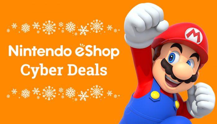 NoA: 'Save big with Nintendo eShop Cyber Deals'