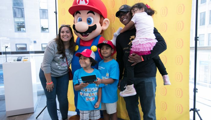 Photos of the Nintendo Back-to-School Celebration at the Nintendo NY Store