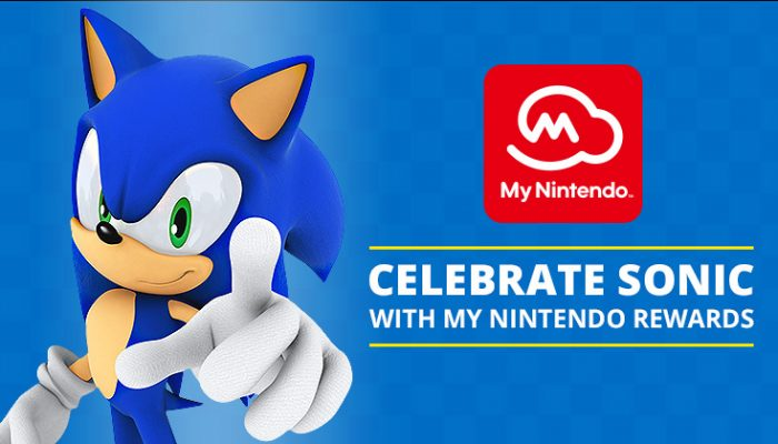 NoA: 'Celebrate the launch of Sonic Forces with Sonic the Hedgehog My Nintendo rewards!'