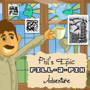 Nintendo eShop Downloads Europe Phil's Epic Fill-a-Pix Adventure