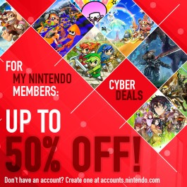Nintendo eShop Downloads Europe Cyber Deals 2017