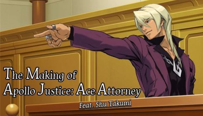 Capcom: 'The Making of Apollo Justice: Ace Attorney, Feat. Shu Takumi'