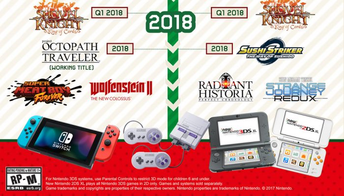 NoA: ' Check out new and upcoming games for Nintendo systems!'