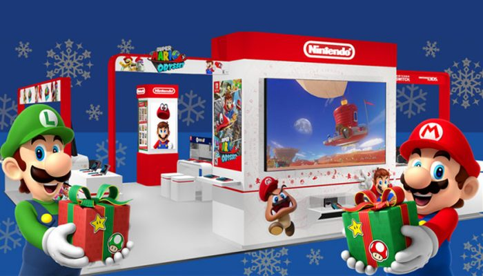 NoA: 'Kick off the holiday season with Mario and other popular Nintendo characters'