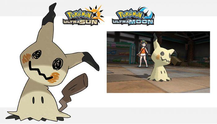 NoA: 'A new Z-Move for Mimikyu! New details revealed for Pokémon Ultra Sun and Pokémon Ultra Moon'