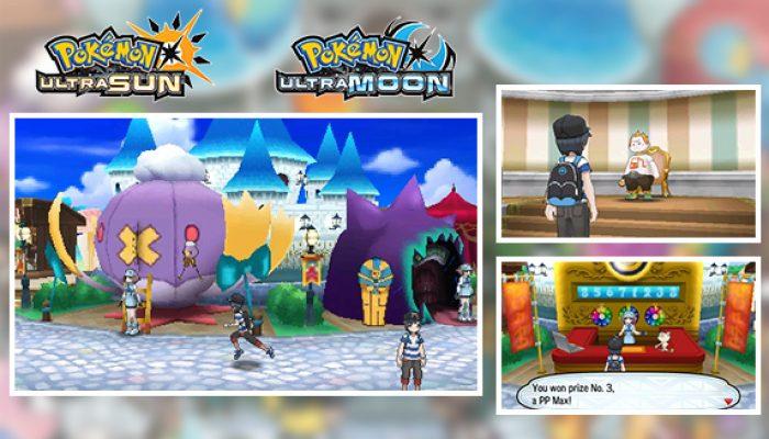 Pokémon: 'Discover the Fun of Festival Plaza [in Pokémon Ultra Sun & Ultra Moon]'