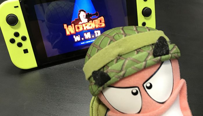 Team17: 'Worms W.M.D. is heading to Nintendo Switch!'