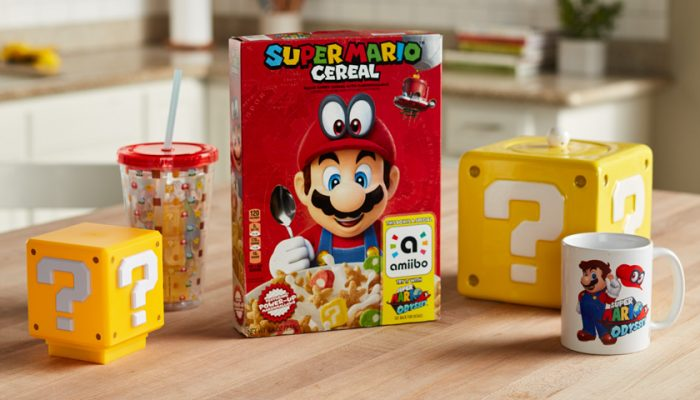 NoA: 'Super Mario Cereal from Kellogg's makes breakfast a playful experience'
