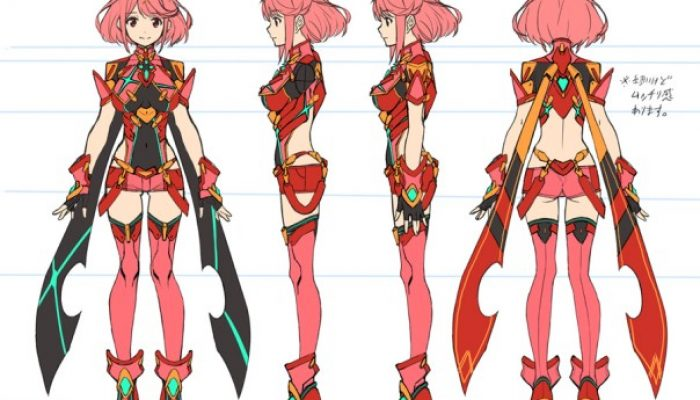 Nintendo France : 'Masatsugu Saito nous parle de la conception des personnages clés de Xenoblade Chronicles 2 – partie 2'
