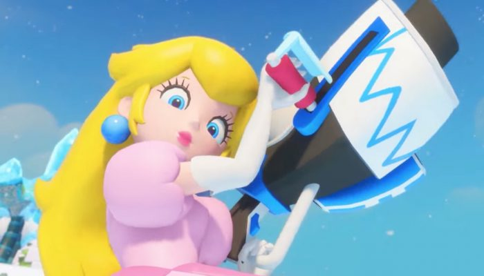 Mario + Rabbids Kingdom Battle – Character Vignette: Peach