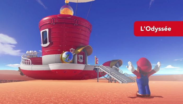 Super Mario Odyssey – Bande-annonce de lancement
