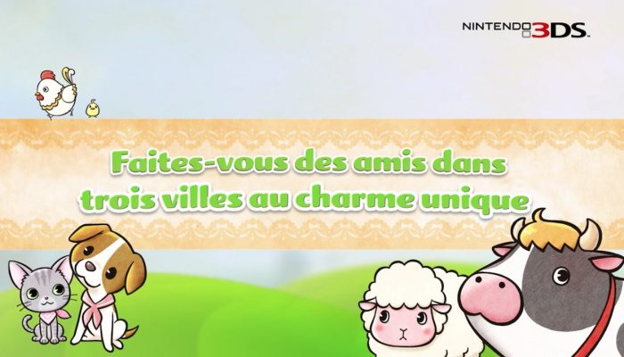 Story of Seasons : Trio of Towns – Bande-annonce de lancement