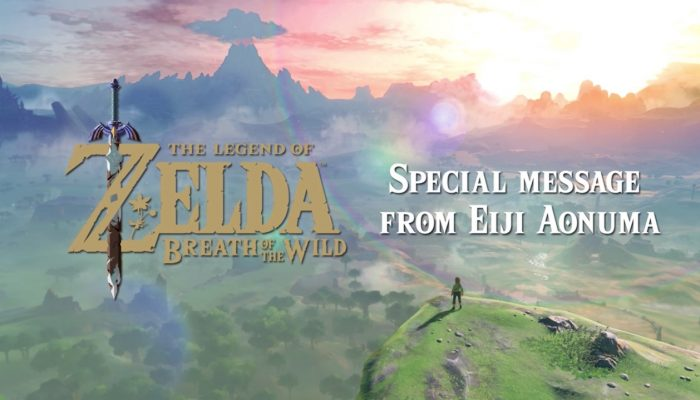 The Legend of Zelda: Breath of the Wild – Special Message from Eiji Aonuma (Nintendo Australia)