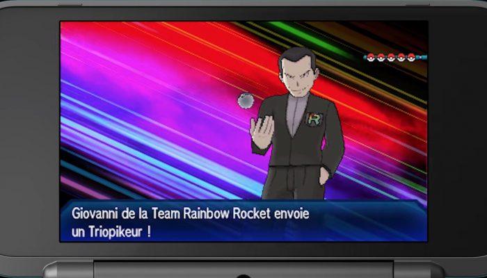 Pokémon Ultra-Soleil et Ultra-Lune – Publicité Giovanni est de retour !
