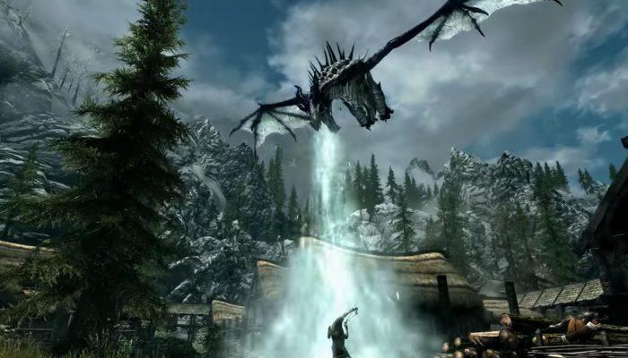 The Elder Scrolls V : Skyrim – Publicité Une aventure épique