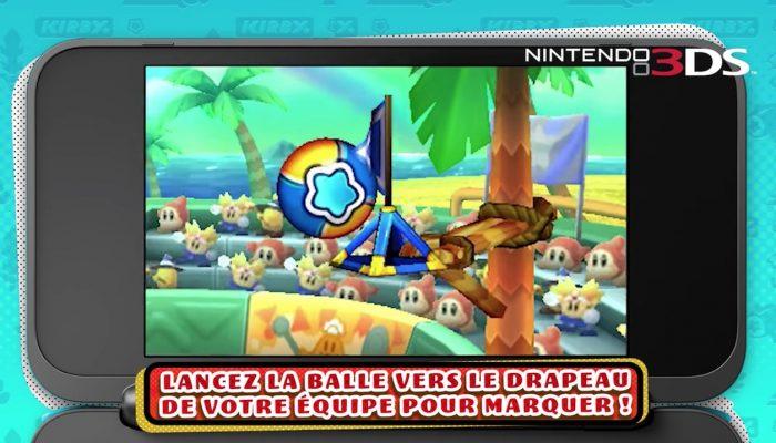 Kirby Battle Royale – Tir aux drapeaux