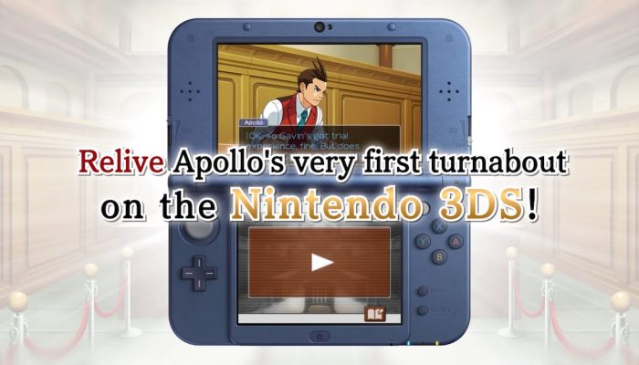 Apollo Justice: Ace Attorney – Nintendo 3DS Launch Trailer