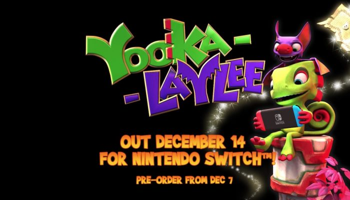 Yooka-Laylee – Nintendo Switch Release Date Trailer
