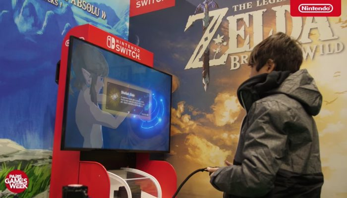 The Legend of Zelda : Breath of the Wild – L'apogée de la licence (Paris Games Week 2017)