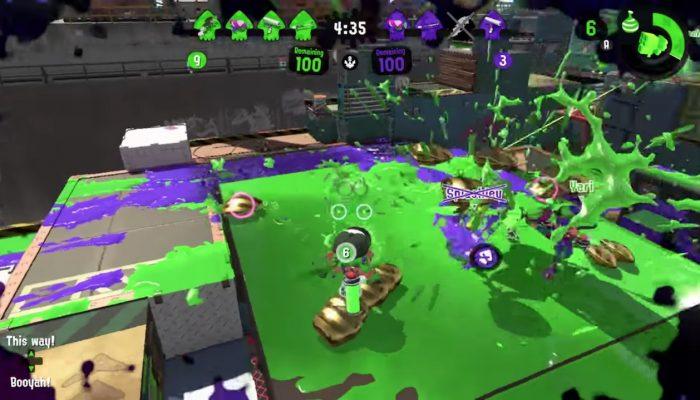 Nintendo France : 'Nouveau rapport du laboratoire de recherche sur les calamars concernant le mode Pluie de palourdes de Splatoon 2'