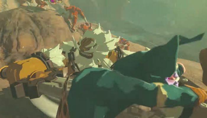 The Legend of Zelda: Breath of the Wild – The Champions' Ballad Trailer