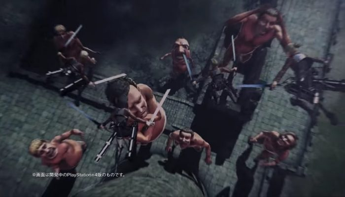 Attack on Titan 2 – Japanese Commercials