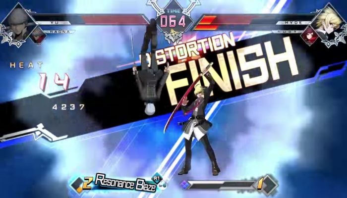 BlazBlue Cross Tag Battle – Official Gameplay Footage