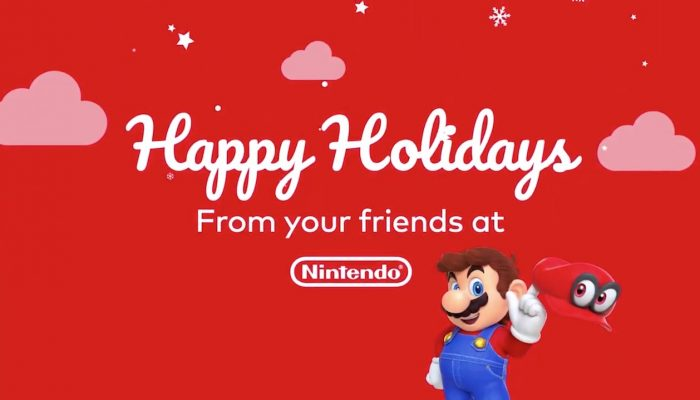 Happy Holidays 2017 from Nintendo of America