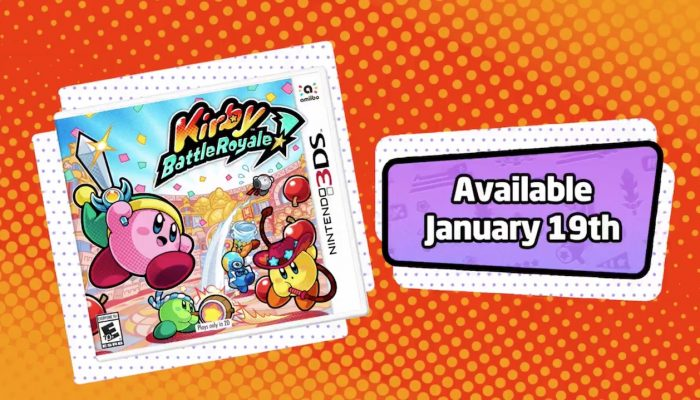 Kirby Battle Royale launching January 19 in North America
