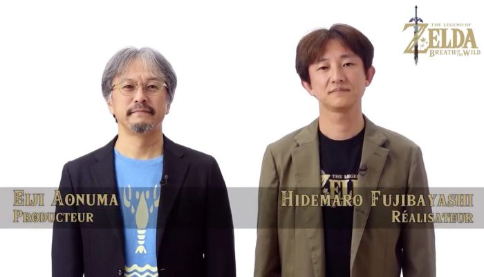M. Aonuma et M. Fujibayashi remercient les Game Blog Awards 2017 pour The Legend of Zelda Breath of the Wild