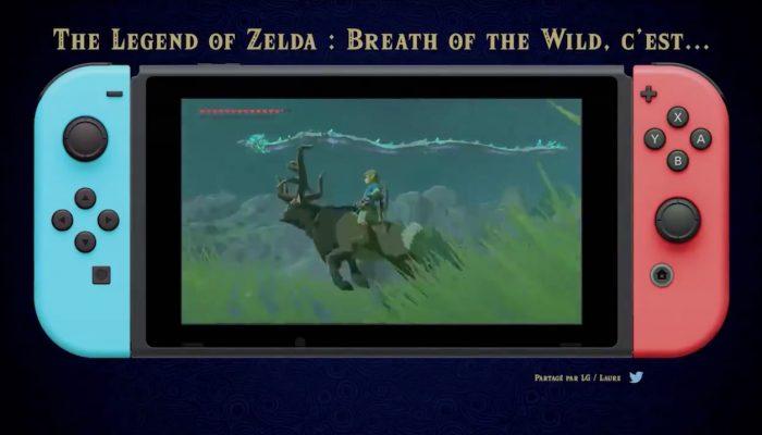Une bande-annonce officielle de Breath of the Wild conçue à partir de vidéos de joueurs