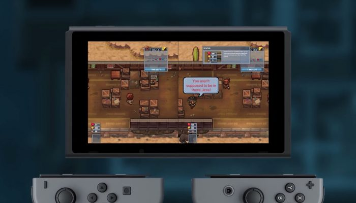 The Escapists 2 – Nintendo Switch Release Date Trailer