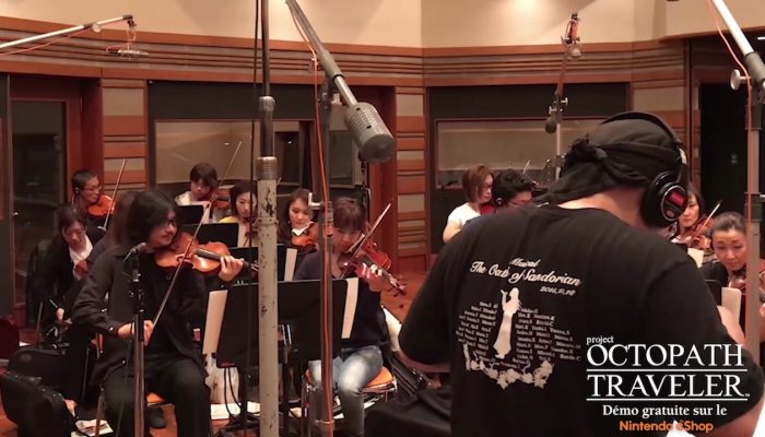 Project Octopath Traveler – Coulisses de l'enregistrement musical