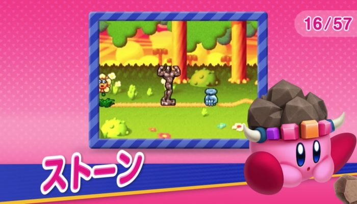 Kirby 25th Anniversary Copy Ability Poll – Japanese Copy Abilities Overview