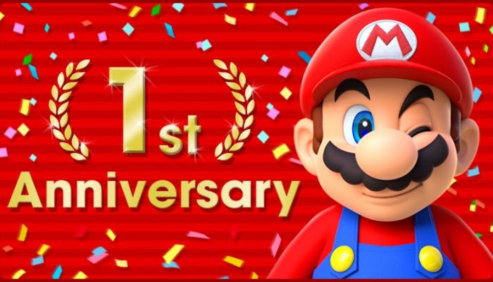 Super Mario Run celebrates its first-year anniversary