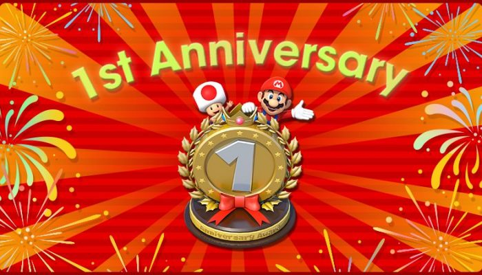 Super Mario Run getting an in-game 1st Anniversary Statue