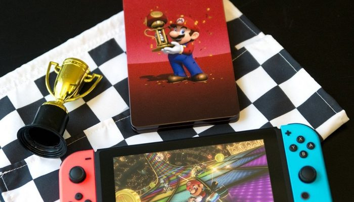 Mario Kart 8 Deluxe gets an exclusive SteelBook at Best Buy