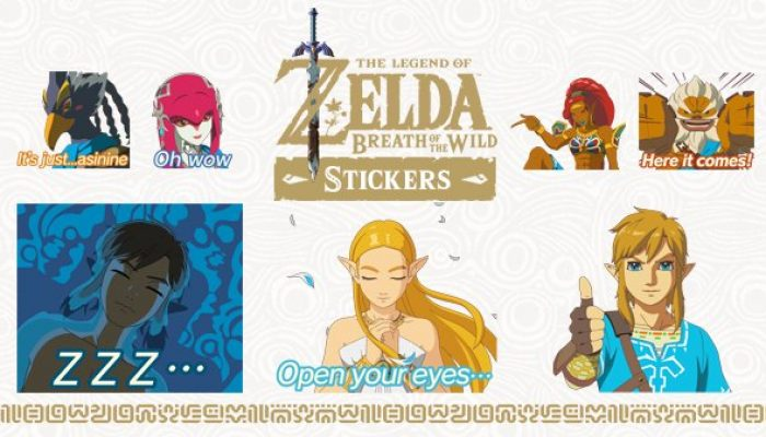 Animated Breath of the Wild iMessage stickers available on iOS