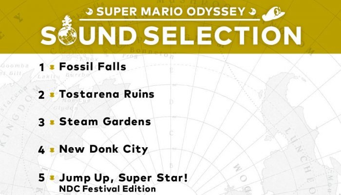 Super Mario Odyssey Sound Selection now available on iTunes