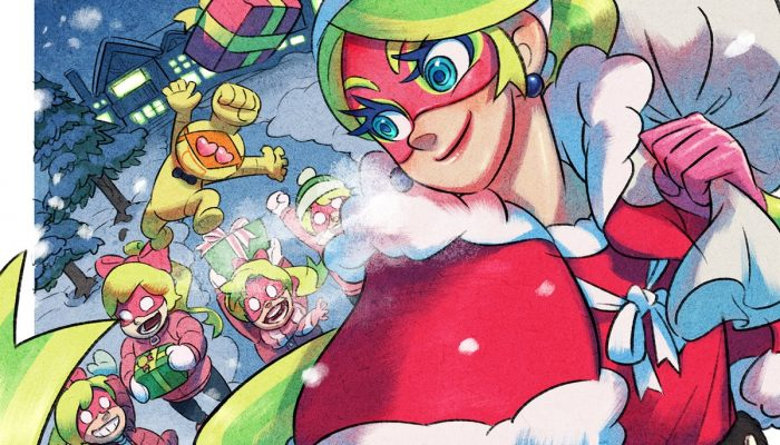 Ribbon Girl and Arms wishing you Happy Holidays