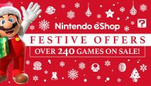 Nintendo eShop sale Festive Offers 2017