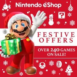 Nintendo eShop Downloads Europe Festive Offers 2017