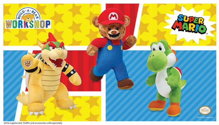 NoA: 'Build-A-Bear Workshop announces new licensed partnership with Nintendo'