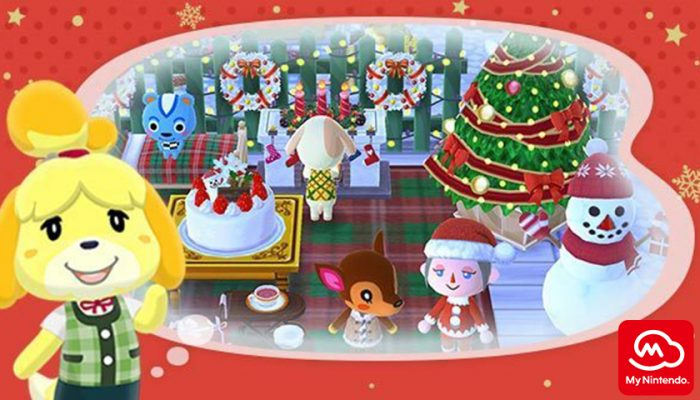 NoA: 'Happy Holidays, Animal Crossing fans!'