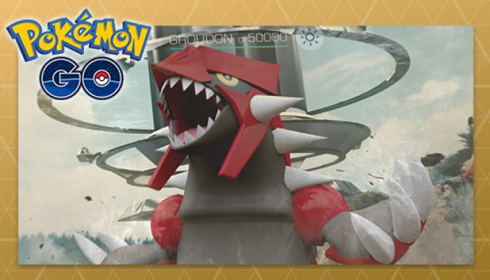 Pokémon: 'Land Ho! Groudon Appears in Pokémon Go'